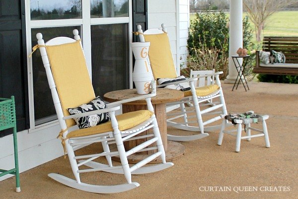 3 Step Diy Covering Outdoor Cushions How To Furniture Reupholster