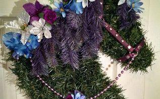 springtime horse head wreaths, crafts, wreaths