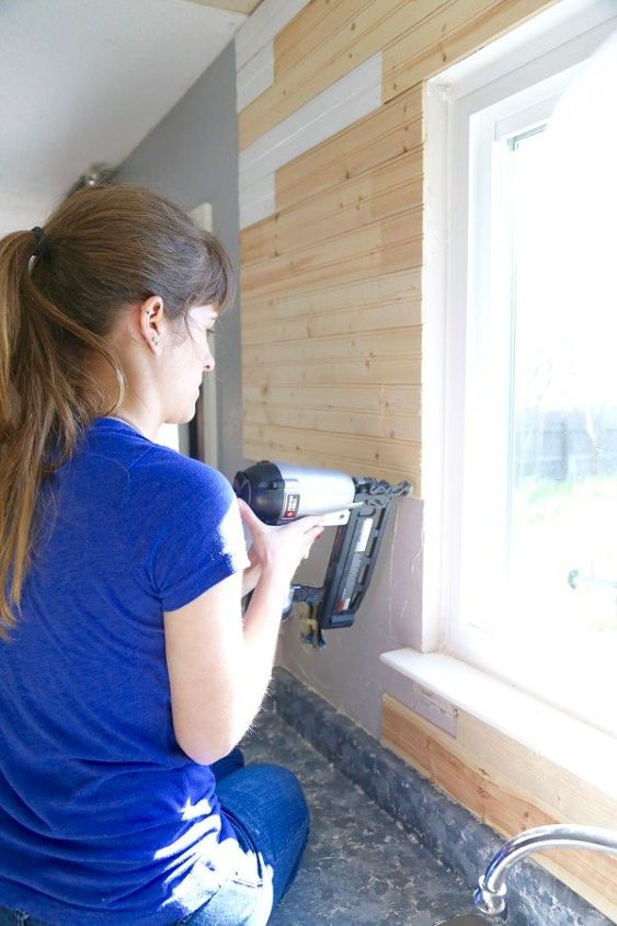 Diy Beadboard Backsplash Hometalk