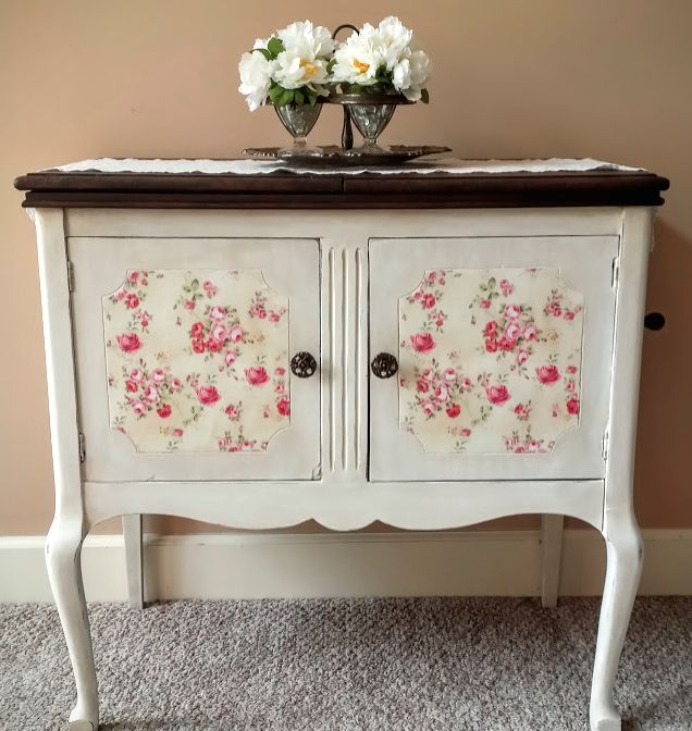 old phonograph makeover april 39 s fab furniture flippin