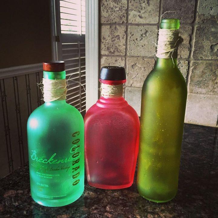 Diy sea glass bottles hometalk for Diy bottles and jars