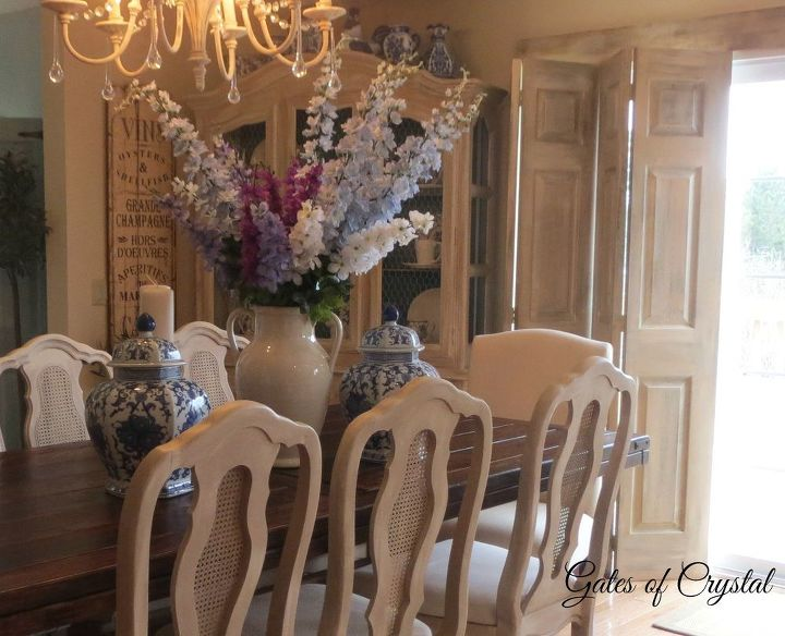 Painting dining room chairs with chalk paint hometalk - Houston dining room furniture ideas ...