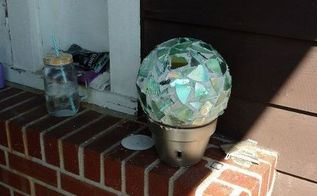 unbreakable gazing balls, crafts, gardening