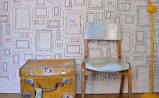 transform a vintage suitcase into side table with character, bedroom ideas, decoupage, repurposing upcycling, rustic furniture, storage ideas
