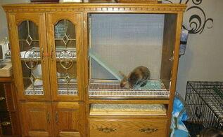 diy bunny small animal home, repurposing upcycling