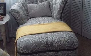 from beast to beauty, reupholster