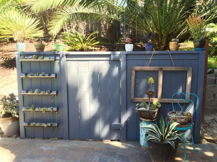 Hiding an ugly shed that houses pool equipment hometalk for Gardens pool supply