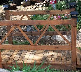 Diy Wood Garden Bridge, Diy, How To, Outdoor Furniture, Outdoor Living,