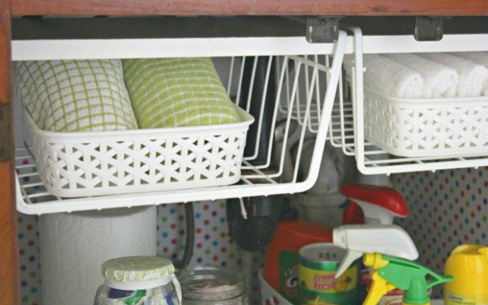 Kitchen Sink Organizer Ideas how to keep dirty kitchen spots clean and fresh much longer   hometalk