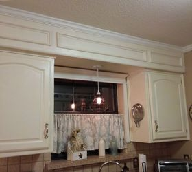 Decorating Ideas > Update!!! From Outdated Soffits To Usable Space  Hometalk ~ 133605_Decorating Kitchen Soffits Ideas