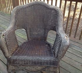 Former Owners Left A Pair Of Rocking Chairs On The Porch. Can I Fix The  Gaps In The Arms? I Would Love To Salvage It Or Should I Trash It?