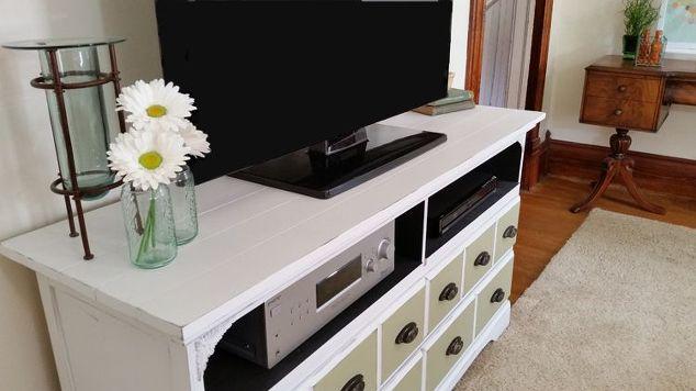 Dresser to TV Stand - A Fabulous Restore! | Hometalk
