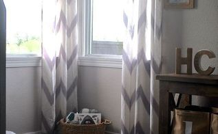 diy copper curtain rods that wont break the bank, diy, how to, window treatments, windows