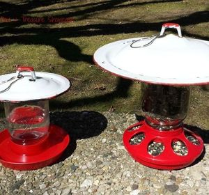 s 17 adorable birdfeeders using things you already own, outdoor living, repurposing upcycling