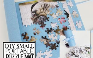 small puzzle container mat upcycle, crafts, how to, repurposing upcycling