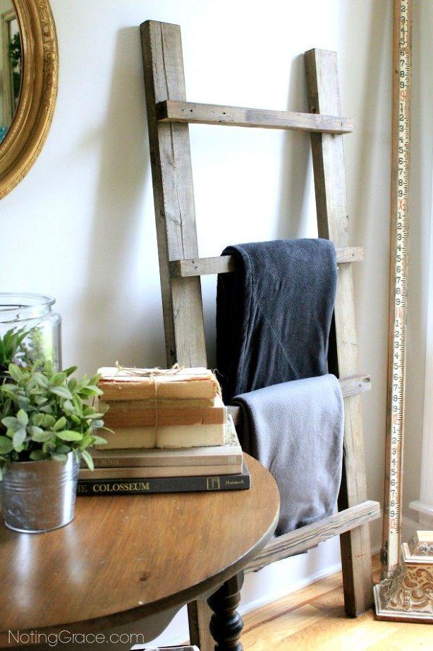 Make a DIY Blanket Ladder in a Weekend | Hometalk