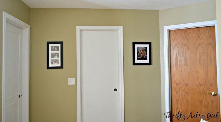 beautiful updated door diy slab door makeover doors how to painting. Black Bedroom Furniture Sets. Home Design Ideas