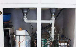 how to organize under your kitchen sink the real life way , how to, kitchen design, organizing, storage ideas