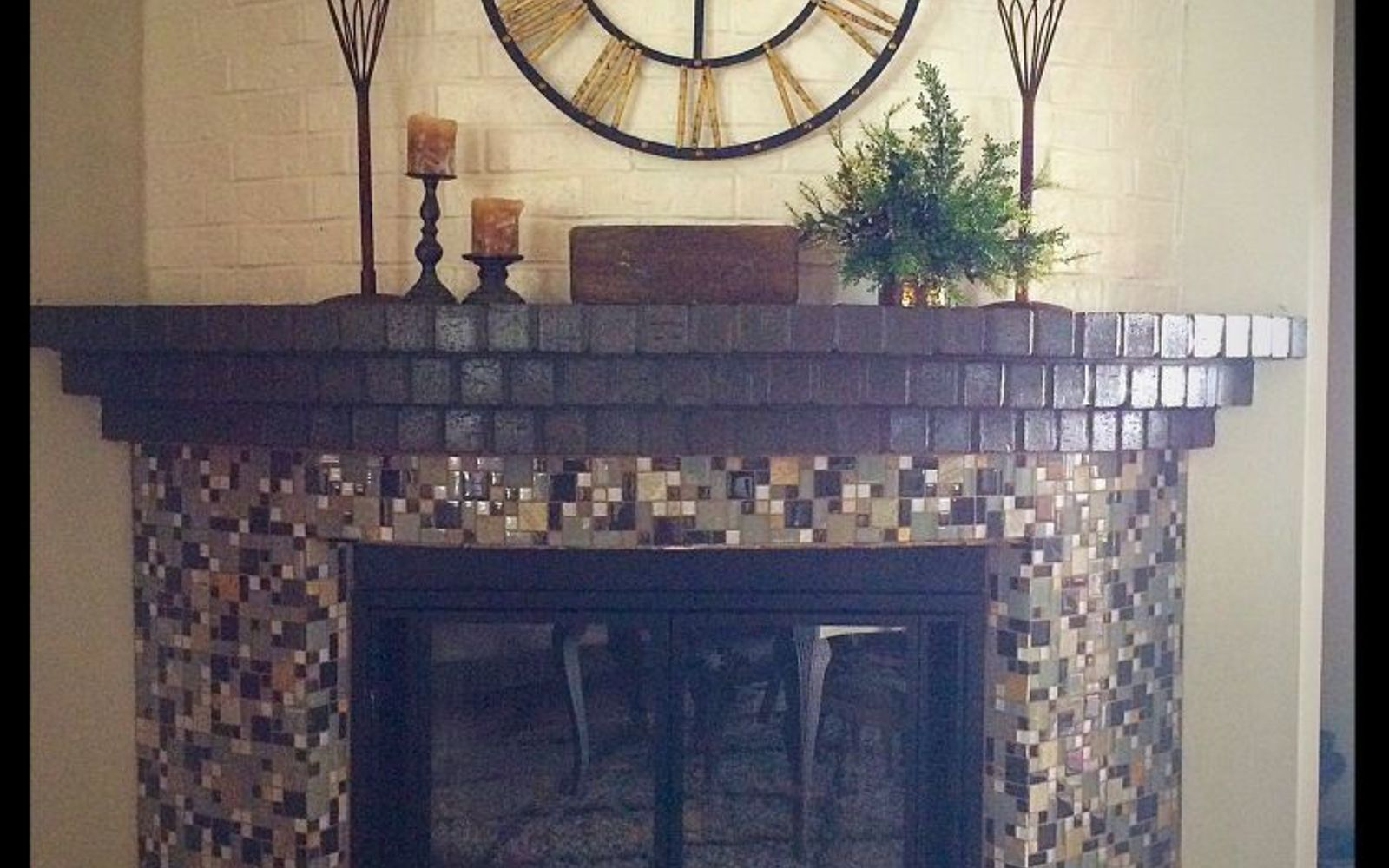 12 Simple Tricks to Instantly Brighten Your Dark Fireplace ...