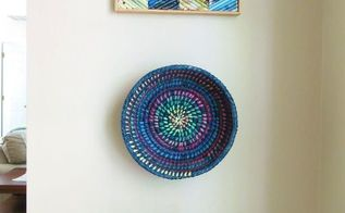 upcycle an old basket with paint and color , crafts, home decor