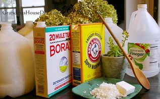 homemade laundry detergent only 3 50 for 4 gallons , cleaning tips