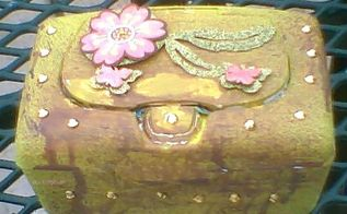 upcycling wipes box to trinket box, crafts, repurposing upcycling