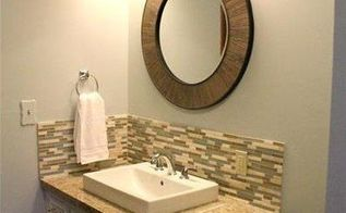 a dated bathroom makeover diy style , bathroom ideas, home improvement, small bathroom ideas