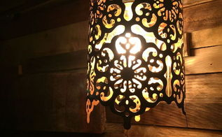fabulous lamps made from candle holder, how to, lighting, repurposing upcycling
