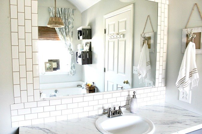 diy subway tile backsplash hometalk