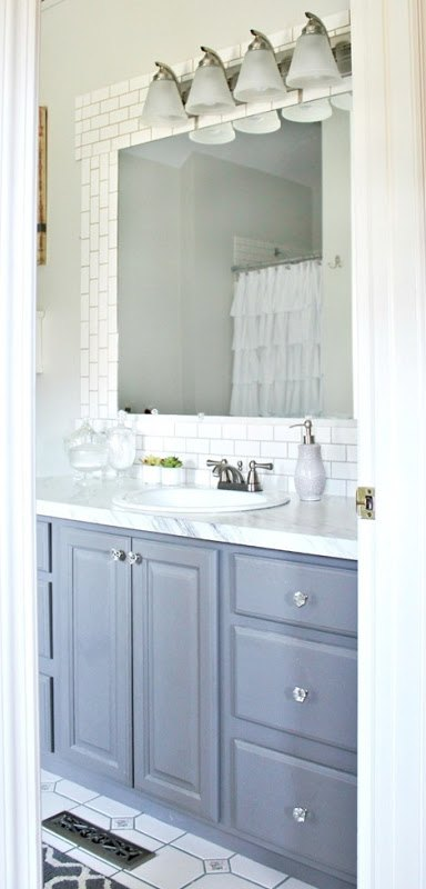 diy subway tile backsplash bathroom ideas kitchen backsplash tiling - Bathroom Subway Tile Backsplash
