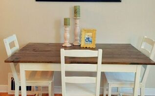 ikea table hack, chalk paint, diy, painted furniture