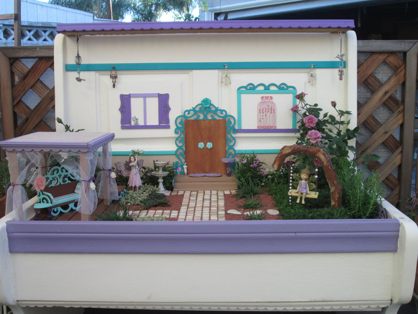 15 Whimsical Ways To Use Old Furniture In Your Flower Bed Hometalk