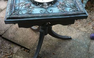 this table was like baking a cake , diy, painted furniture