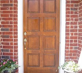 A Low Cost And Simple Way To Give Your Front Door A Fresh Look, Doors
