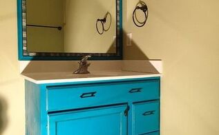 frame a mirror with moulding and tiles, bathroom ideas, chalk paint, diy, tiling, wall decor