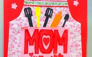 handmade mother s day card, crafts, seasonal holiday decor