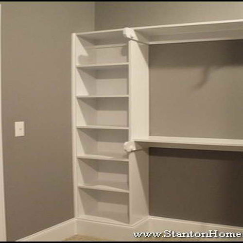reaching top closet shelf shelving ideas shoe rack diy home organizers plans