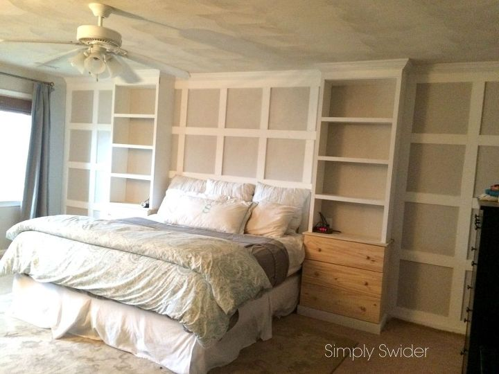 DIY Master Bedroom Built-ins | Hometalk
