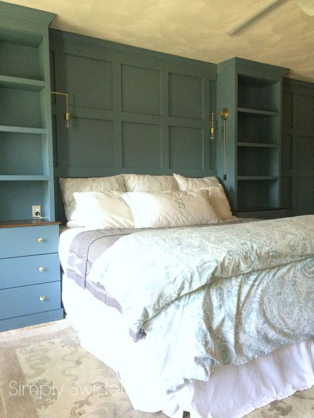 Diy Master Bedroom Built Ins Bedroom Ideas Storage Ideas Woodworking Projects