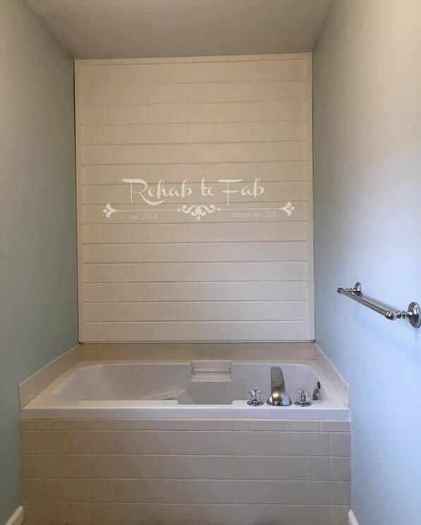 My master bath got a shiplap transformation hometalk for Bathroom ideas with shiplap