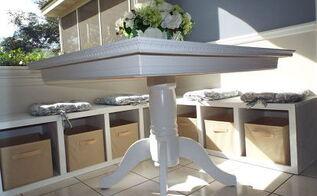 breakfast nook seating and storage, storage ideas