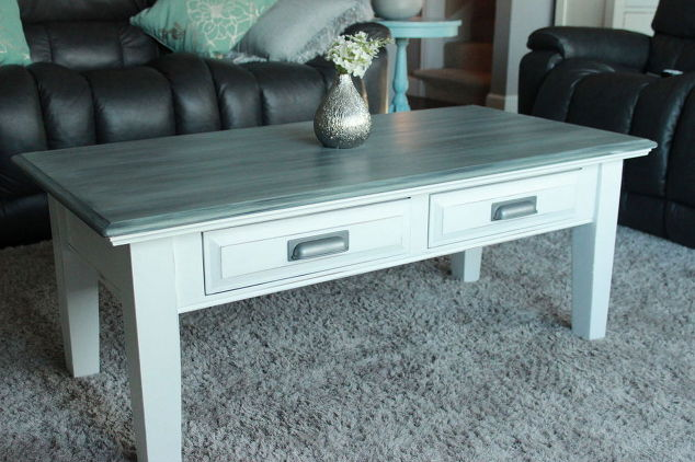 Coffee Table Flip With Annie Sloan Chalk Paint And Minwax Stain Chalk Paint Painted