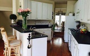 diy: stenciled kitchen backsplash (budget) | hometalk