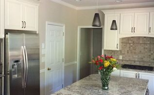 soft whites and translucent grey, countertops, kitchen cabinets, kitchen design