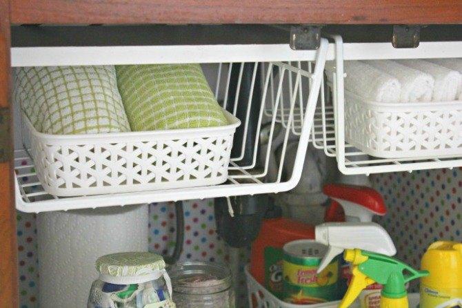 The 15 Smartest Storage Hacks For Under Your Sink Hometalk