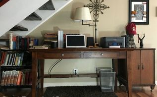 Printers can often become big eye sores in any home office. Here's how to hide a printer and make it look fashionable in your home. Printers can often become big eye sores in any home office. Here's how to hide a printer and make it look fashionable in your home.