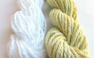 natural dyeing with dandelions , crafts, diy, go green, how to