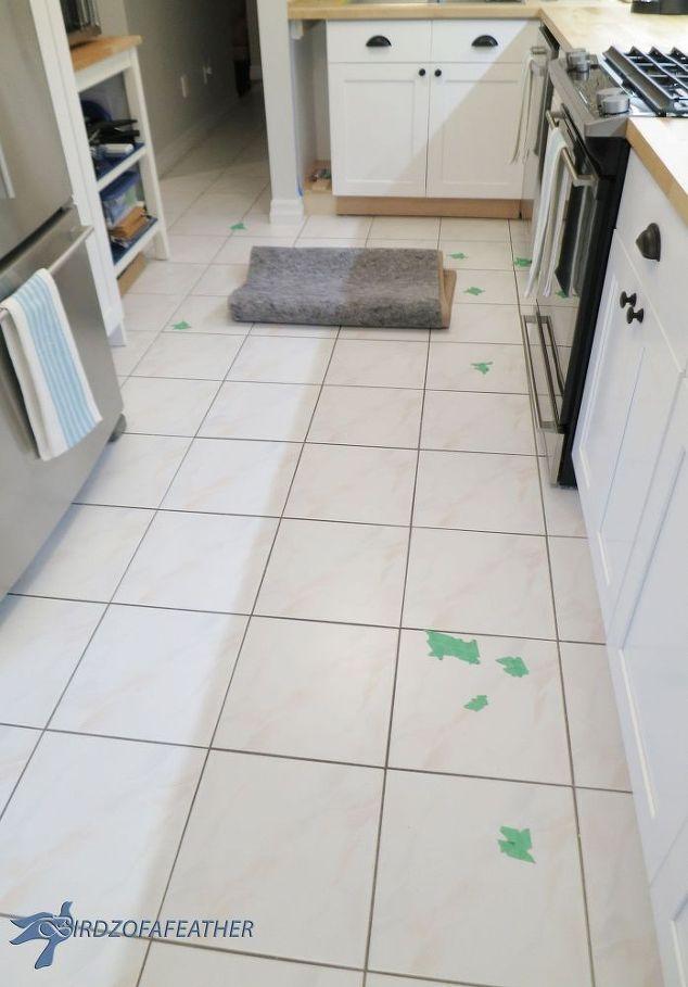 Tile Floor Fix Tile Floor