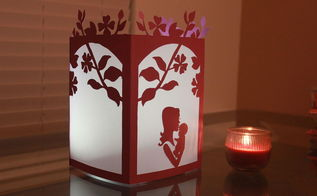 mother baby night light , crafts, how to, lighting, seasonal holiday decor