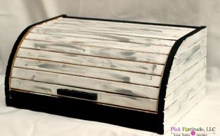 is it as big as an eco friendly breadbox , chalk paint, painted furniture